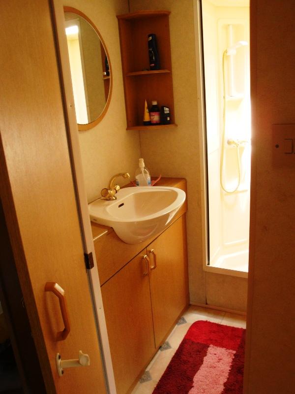 Bagno piccolo con doccia classico sanitari classici e - Bagno piccolo con doccia ...